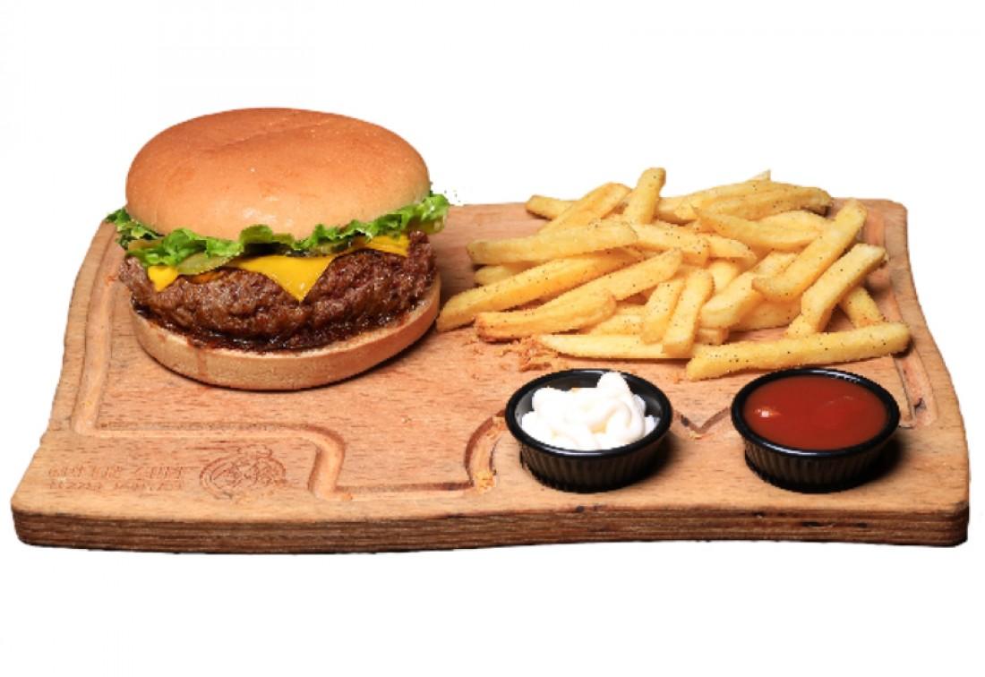 Cheeseburger Menü